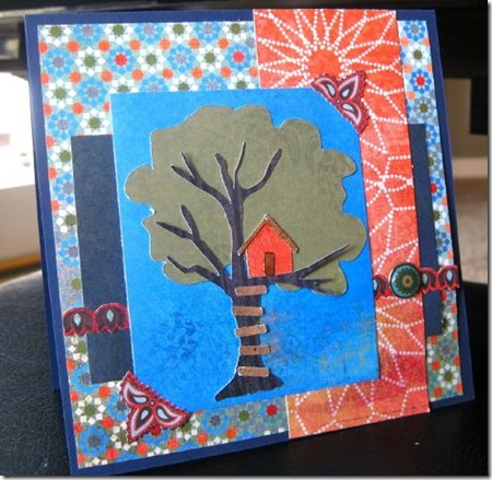 Tree house BG card