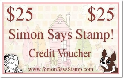 Simon Says Stamp $25 Credit Voucher