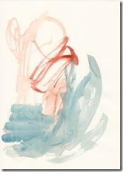 Wer weiß schon was; Aquarell auf Papier (c) Naseen Kiliani