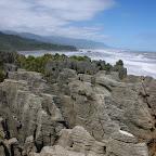 Pancake-Rocks an der Westküste