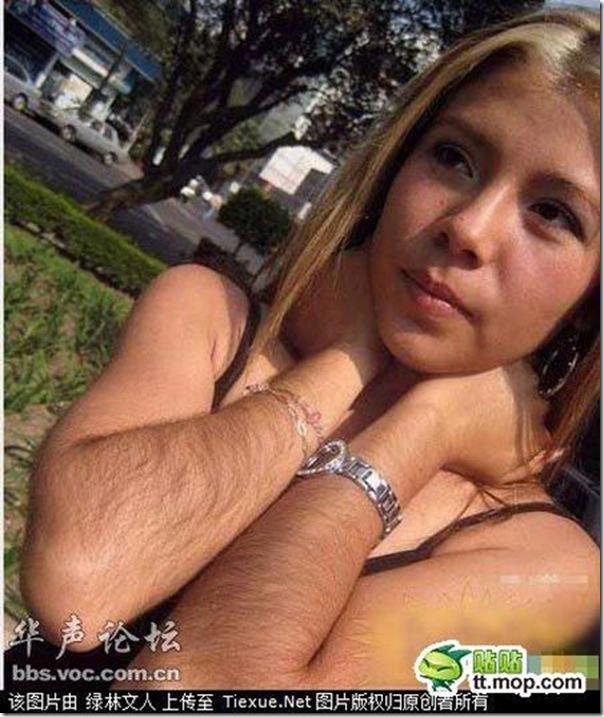 Garotas com braços peludos (3)