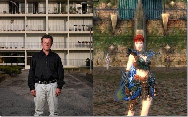 Pessoas reais vs Personagens de games (10)