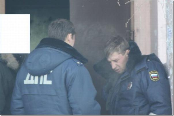 Policiais russos bebados (4)