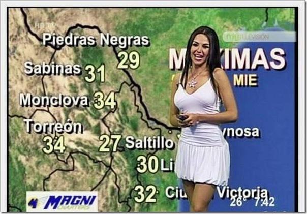 Previsão do Tempo na América Latina e Oriente Médio