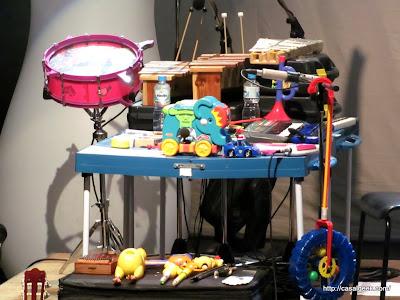 Fotos do Ensaio Geral: Pato Fu - Música de Brinquedo