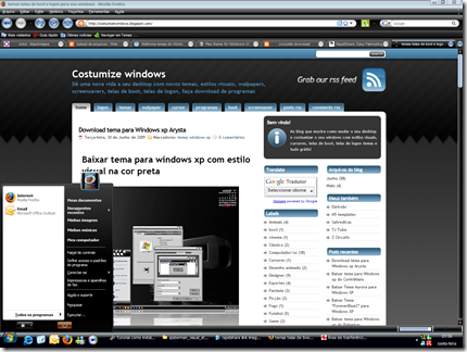 image thumb%5B7%5D Tutorial como instalar temas genéricos no windows xp e modificar o estilo visual das janelas com Uxtender the uxtheme patch. Download uxtender 1.3