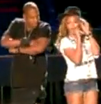 Jay-Z and Beyonce Forever Young performance at Coachella 2010