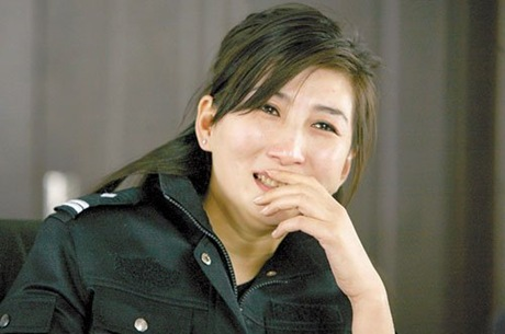 Picture of Wang Yuhui, China's Most Beautiful Policewoman
