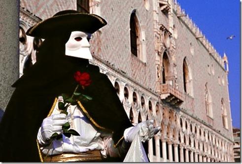 Bauta - venetian mask