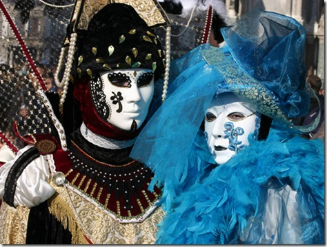 venetian mask and costume festival