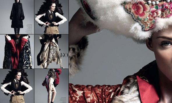 View Coco Rocha Harper's Bazaar