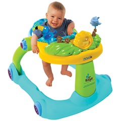Tiny Steps 2 in 1 activity walker