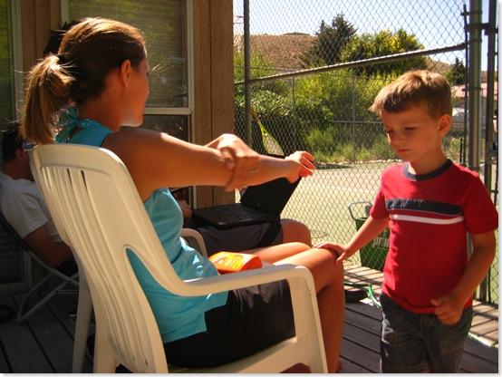 2009-08-20 Reunion, Grammie Camp, Charity 077