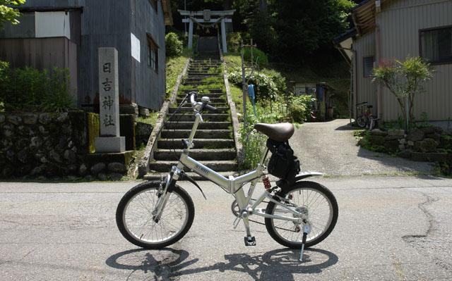 自転車で逝ってみた^^;w