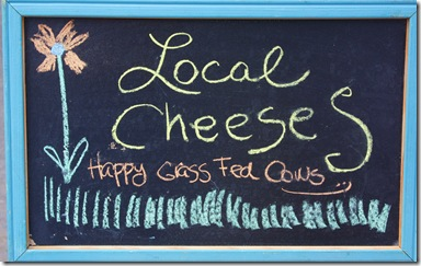 local cheese sign, julia and isabella