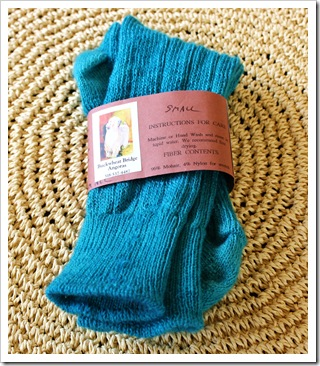 buckwheat bridge angoras mohair socks