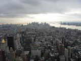 Manhattan depuis l'Empire State Building