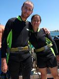 Première plongée ensemble