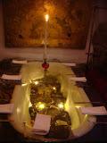 Table-baignoire (avec poissons!)