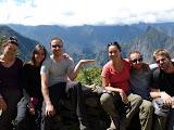 Le Machu Picchu sur un plateau