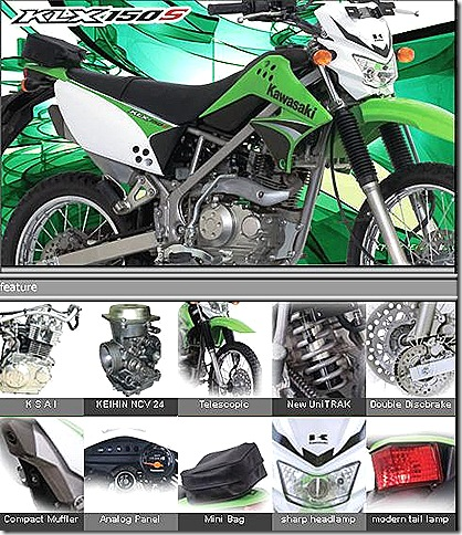 kawasaki 150 motor