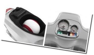 Piaggio Vespa S 125 feature