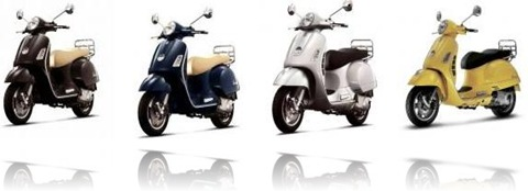 piaggio Vespa GTS 250 variant