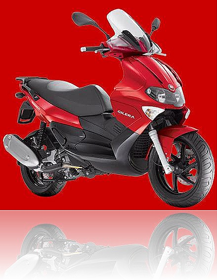 Piaggio Gilera Runner VXR 200 - VX 125 red