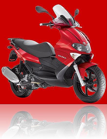 Piaggio Gilera Runner VXR 200 - VX 125 red