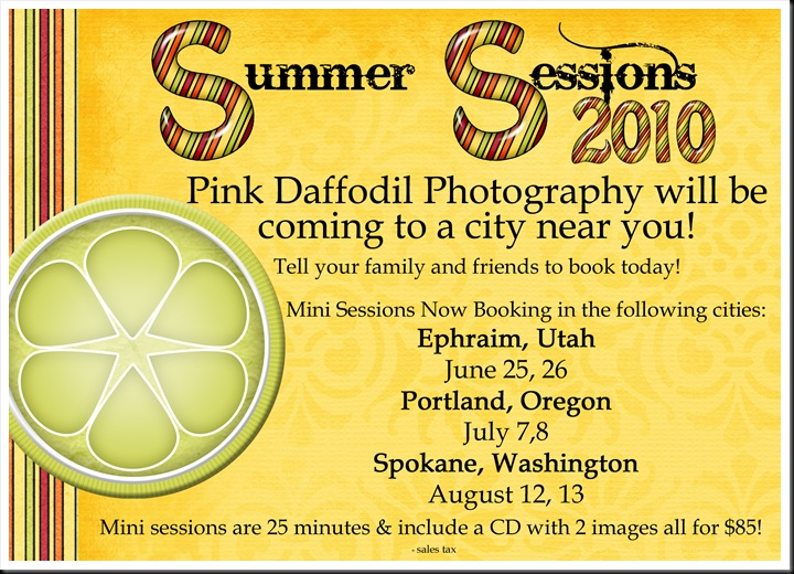 Pink Daffodil summer sessions copy