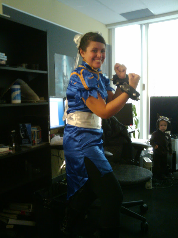 Heather as Chun Li