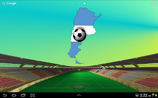 Screenshot of Argentina Soccer Wallpaper