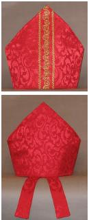 mitra obispo patrones