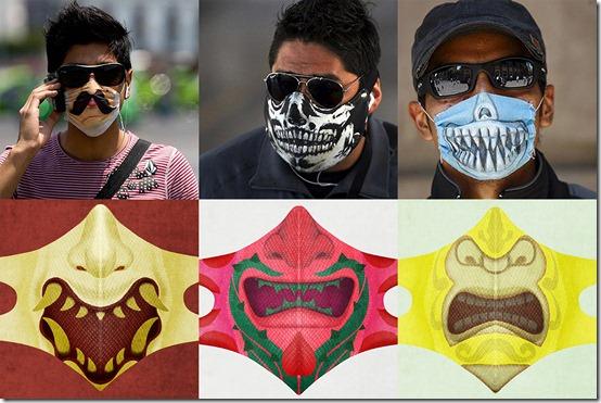 mascaras cubrebocas