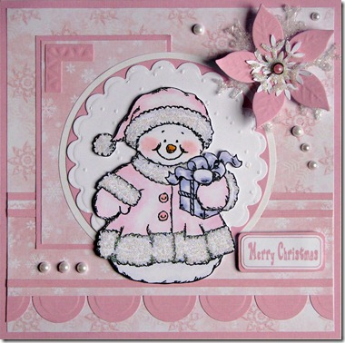 Pink Snow Lady - Card No. 089 001