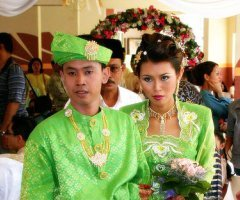 Malay Wedding Couple