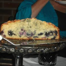 The Best Blueberry Muffin Cake