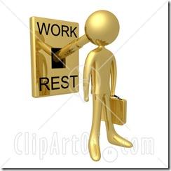 استراحة وعمل
