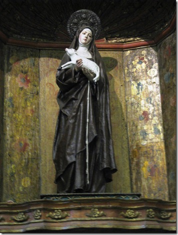 St. Agnes, Sister to St. Clare