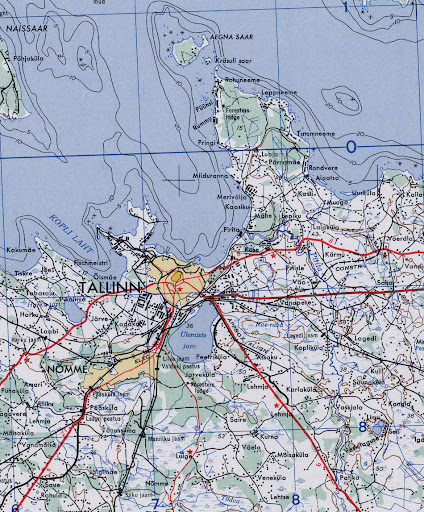 Tallinn Maps US Army Map Of Tallinn - Tallinn map