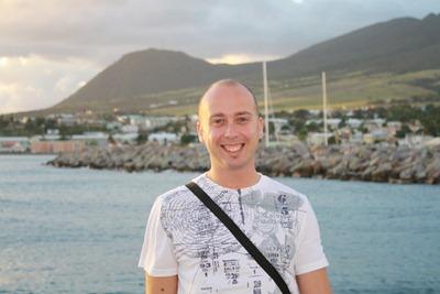 Uma inesperada saída num dia de trabalho em St. Kitts