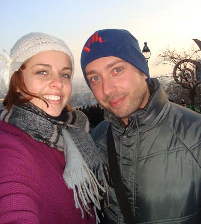 Em Montmartre com a Nikki!