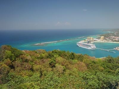 Não sou grande fã da Jamaica, mas não posso negar que Ocho Rios tem umas vistas lindas