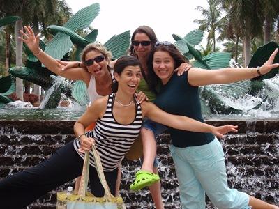 As gajas a fazer macacadas para a câmara... estava difícil convencê-las a fazer alguma coisa engraçada!