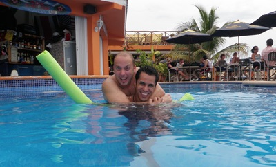 Piscina do No Name Bar, Cozumel