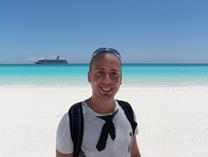 Mais um dia no paraíso de Half Moon Cay