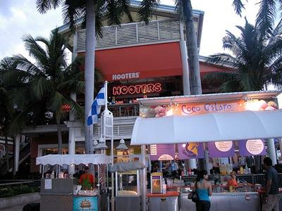 Restaurante Hooters em Bayside, Miami