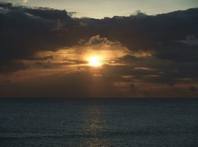 Pôr do Sol em St Kitts