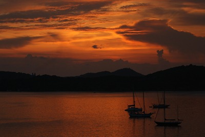 Pôr-do-Sol em St. Thomas, US Virgin Islands