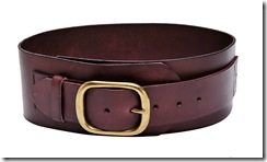 moussy Leather Buckle Belt_HK$890